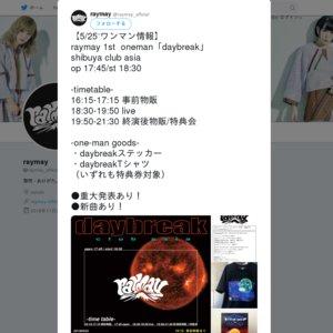 raymay 1stワンマン(仮)