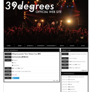 "39degrees Single CD ""Navy"" Release Tour"