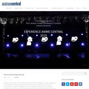 Anime Central 2019 1日目