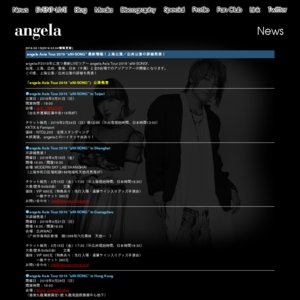 "angela Asia Tour 2019 ""aNI-SONG"" 上海公演"