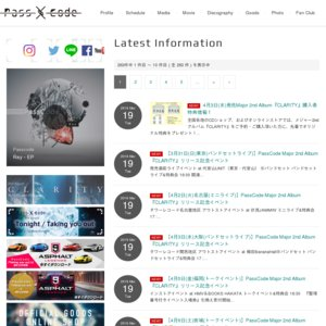 PassCode Major 2nd Album『CLARITY』リリース記念イベント 3/31