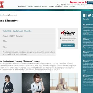 Animethon 26 - Anisong Edmonton