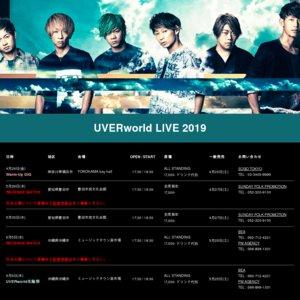 UVERworld LIVE 2019 愛知公演2日目