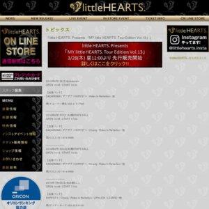 little HEARTS. Presents 「MY little HEARTS. Tour Edition Vol.13」 静岡公演