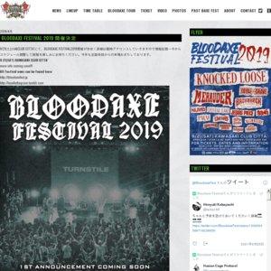 BLOODAXE FESTIVAL 2019