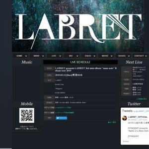 "LABRET 3rd mini album ""same note"" Release tour 2019 町田"