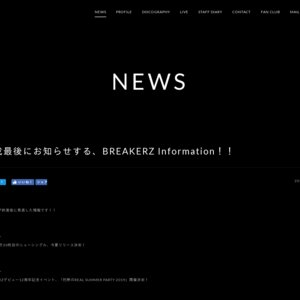 BREAKERZ LIVE TOUR 2019  北海道公演