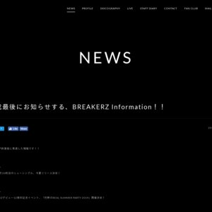 BREAKERZ LIVE TOUR 2019  愛知公演