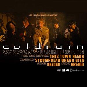coldrain Live in Hong Kong 2019