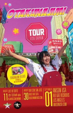 """桃井はるこ ワンマンライブツアー 『""""OTAKUNAJIMI"""" TOUR USA-JAPAN』 SAN JOSE"""
