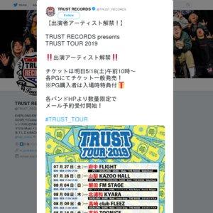 TRUST TOUR 2019  東京