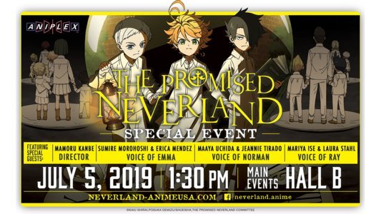 Anime Expo 2019 The Promised Neverland Special Event