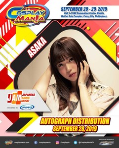 COSPLAY MANIA 2019 Asaka Autograph Distribution