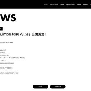 EVOLUTION POP!vol.36