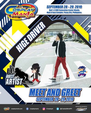 COSPLAY MANIA 2019 Hige Driver Meet and Greet