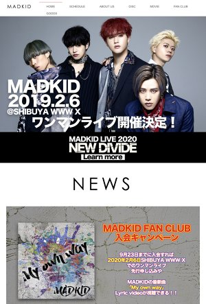 "MADKID LIVE 2020 ""New Divide"""