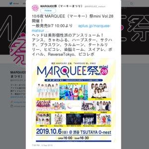 MARQUEE祭mini Vol.28