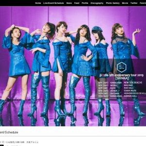 predia 10th Single「シャララ・ナイアガラ」Release!フリーライブ@大宮 1回目
