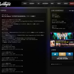 """Fear, and Loathing in Las Vegas「""""HYPERTOUGHNESS"""" Release Tour 2020」 石川公演"""