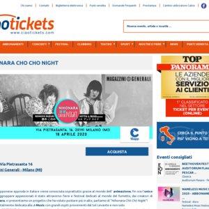 NIHONARA CHO CHO NIGHT Concert