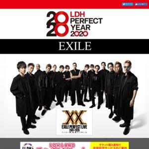 EXILE PERFECT LIVE 2001→2020 大阪公演2/21