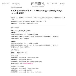 Maaya Happy Birthday Party!! 2019 第1部
