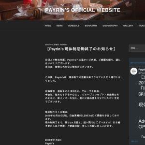 Payrin's 2nd ONEMAN LIVE 『Vinculum』