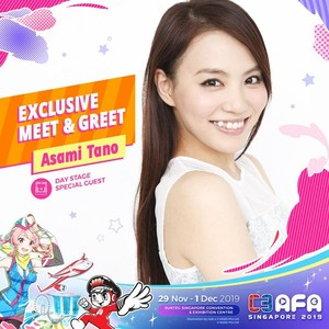 C3AFASG19 Asami Tano Meet and Greet