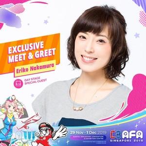 C3AFASG19 Eriko Nakamura Meet and Greet