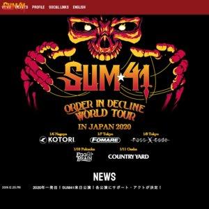 Order In Decline World Tour in Japan 東京公演2日目