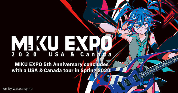 【延期】Miku Expo 2020 USA & Canada (San Jose)