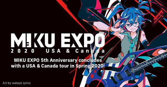 【代替日程】Miku Expo 2020 USA & Canada (Toronto)