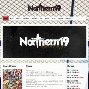 Northern19 presents HOLY DIVERS vol.3 at 渋谷TSUTAYA O-EAST