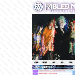 FABLED NUMBER presents ELEXGAME TOUR