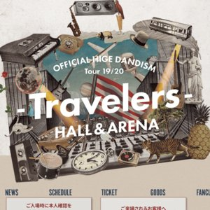 Official髭男dism Tour 19/20 - Hall Travelers - 鳥取公演