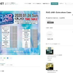 RAD JAM -Extra show Case-