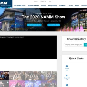 The 2020 NAMM Show DAY1