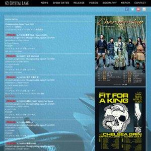 Crystal Lake presents Championship Japan Tour 2020 名古屋公演