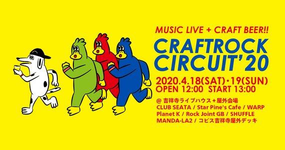 CRAFTROCK CIRCUIT'20 2日目 【中止】