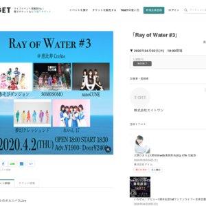 【延期】2020/4/2 Ray of Water #3
