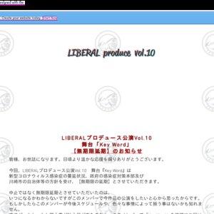 【延期】LIBERALプロデュース公演Vol.10「Key Word」5/27 マチネ【Keyチーム】
