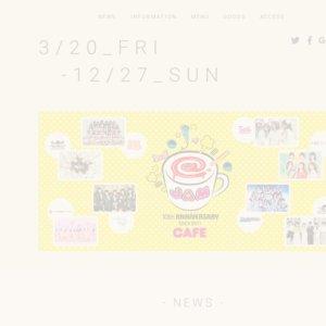 @ JAM 10th Anniversary Cafe「アップアップガールズ(2)」来店イベント