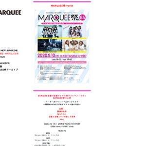 MARQUEE祭 Vol.68