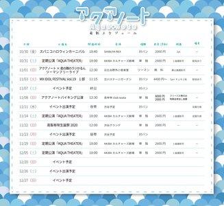 アクアノート定期公演「AQUA THEATER」2020/10/31