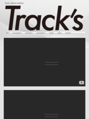 "Track's ""Inside Outside"" TOUR 2020 東京"