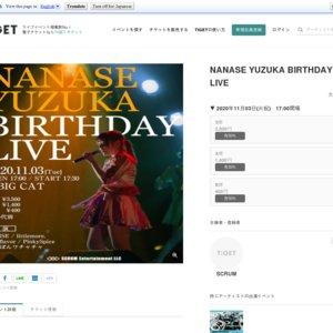 NANASE YUZUKA BIRTHDAY LIVE