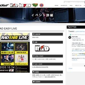 RAD EASY LIVE 2020/10/24 2部
