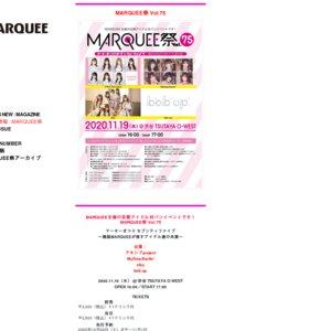 MARQUEE祭 Vol.79