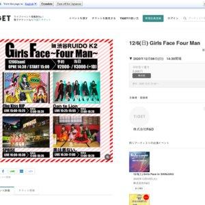 Girls Face Four Man(2020/12/6)
