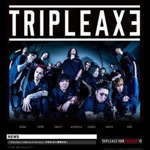 TRIPLE AXE 「15MANIAX ONEMAN TOUR 2021」 Zepp Fukuoka 1部